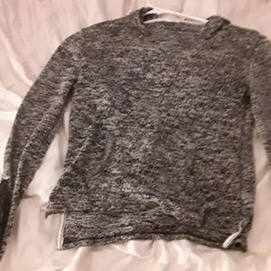 knit grey sweater from aéropostale